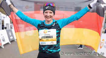 """Katharina Steinruck gewinnt Wahl zum """"Ass des Monats"""" - Leichtathletik"""
