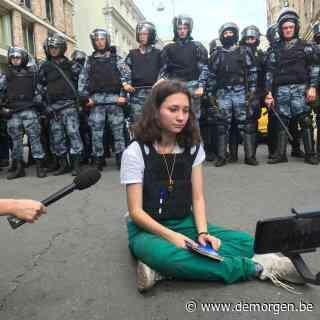 Hoe een 19-jarige student haar wanhoop en angst trotseert en het opneemt tegen het Russische regime