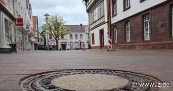 Blomberger Marktplatz: Neues Pflaster ziert die Ostseite   Lokale Nachrichten aus Blomberg - Lippische Landes-Zeitung