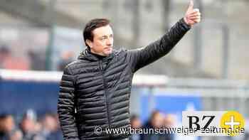 Eintracht-Trainer Daniel Meyer zeigt sich angriffslustig