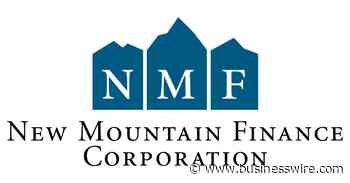 New Mountain Finance Corporation Announces Financial Results for the Quarter Ended March 31, 2021 - Business Wire