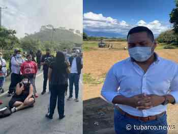"""El desesperado llamado del alcalde de Vijes para que manifestantes retiren los bloqueos, militares """"no nos escucharon"""" - TuBarco"""