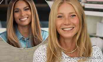 Gwyneth Paltrow and Ciara discuss parenting in the pandemic and supporting other moms - Daily Mail