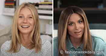 "Gwyneth Paltrow Tells Ciara She Has A ""Really Dirty Sense Of Humor"" As They Talk Motherhood - Daily Front Row"