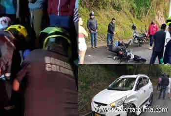 Varios accidentes de tránsito en vías del Sur del Huila - Alerta Tolima