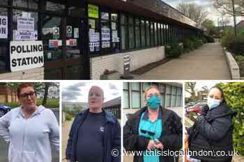 Pollards Hill voters have their say on election day