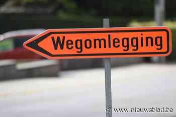 Hinder op Ninoofsesteenweg door werken (Roosdaal) - Het Nieuwsblad