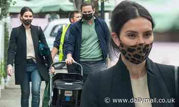 Christine Lampard and husband Frank take son Freddie on shopping trip