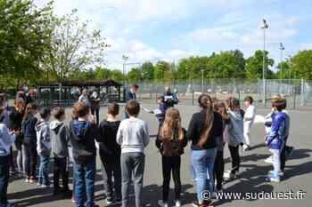 Martignas-sur-Jalle : cinq classes ont suivi une formation à la sécurité routière sur piste - Sud Ouest
