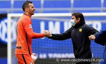 Inter, Handanovic: «Scudetto? Non ci credevo dopo Sassuolo Atalanta» - Calcio News 24