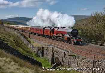Northern Belle train to return to Warrington next month