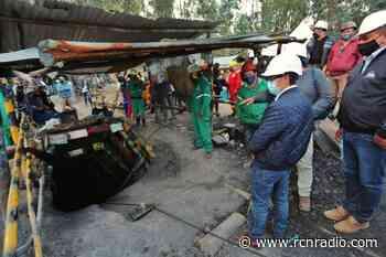 Los tres mineros atrapados en Tuta, Boyacá siguen con vida: autoridades - RCN Radio