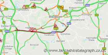 Reports of two further crashes on M65 causing severe delays of up to 60 minutes