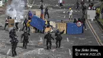 Kolumbiens Regierung hat die Lage nicht mehr im Griff