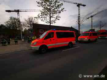 Münster: Mann klettert auf Kran an der Domagkstraße