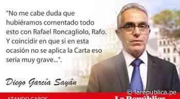 Hay golpes en la vida..., por Diego García Sayán - LaRepública.pe