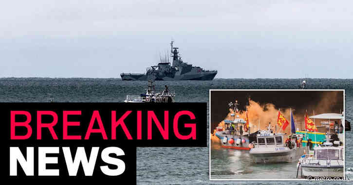 Navy boats to leave Jersey as tensions cool after French fisherman protest