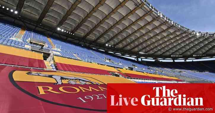 Roma v Manchester United: Europa League semi-final, second leg – live!