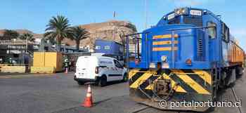 Tren de carga inicia viaje de prueba desde el Puerto de Arica con destino a Bolivia - PortalPortuario