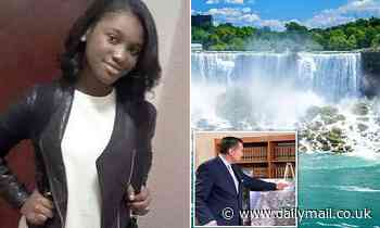 Missing student, 19, 'jumped to her death from Niagara Falls after split from boyfriend'