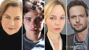 Adelaide Clemens, Patrick J. Adams, Douglas Smith, Kathleen Turner Starring in 'The Swearing Jar' (EXCLUSIVE) - Variety