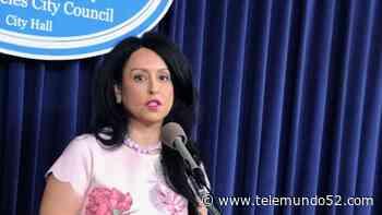Informe: Nury Martinez está 'considerando seriamente' la candidatura a la alcaldía - Telemundo 52