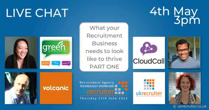 Live Chat: What your Recruitment Business needs to look like to thrive PART ONE