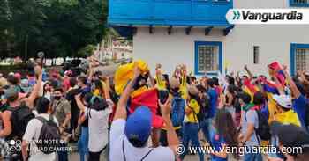 Jóvenes mostraron su liderazgo en manifestaciones en San Gil - Vanguardia