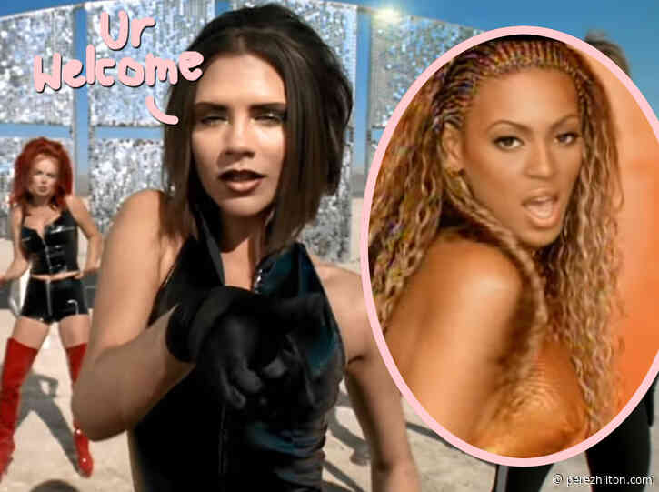 Victoria Beckham Says The Spice Girls Inspired Beyoncé!