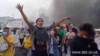 Colombia unrest: Widespread protests continue