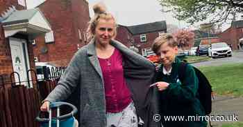Mum shamed for wearing PJs on school run hits back at those who say she's 'lazy'