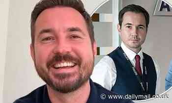 Line Of Duty's Martin Compston hits back at a troll questioning his Scottish citizenship