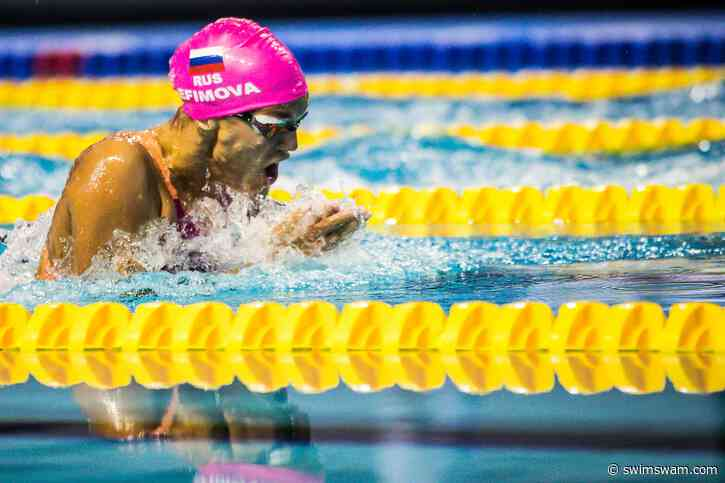 Russian Head Coach Indicates Yulia Efimova Will Focus on 100 Breast for Tokyo