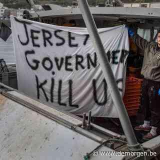 Franse vissers en Britse marine vertrekken bij Jersey: 'Wij hebben onze spierballen getoond, nu is het aan de politici'