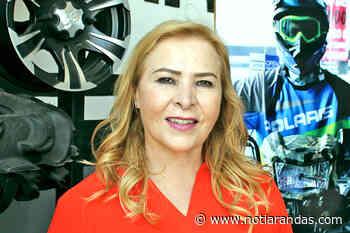 """""""Seguimos trabajando, la gente está contenta"""": Anabel Bañuelos - NotiArandas"""