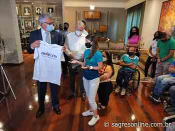 Governador recebe atletas olímpicos e paralímpicos no Palácio das Esmeraldas e garante subsídio completo do Pró-Atleta - Sagres Online - Sagres Online