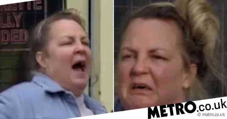 EastEnders spoilers: Broken Karen Taylor arrested as she destroys the launderette