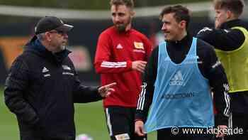 """Bei Kruse ist Union-Trainer Fischer """"vorsichtig"""" - kicker"""