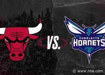 Keys to the Game: Bulls at Hornets (05.06.21)