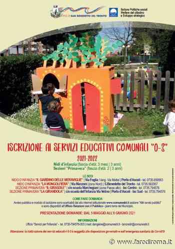 Nidi d'infanzia di San Benedetto del Tronto: aperte le iscrizioni - Farodiroma