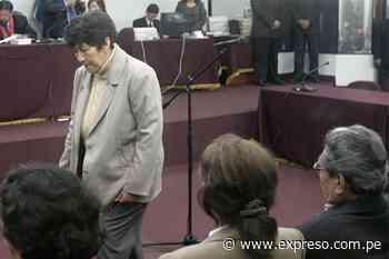 Pruebas hunden a Martha Huatay en caso Tarata - Expreso (Perú)