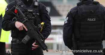 Armed police called after reports of teen carrying firearm