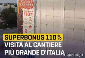 Martina Franca: visita parlamentari M5S a cantiere più grande d'Italia, Superbonus 110% - AgoraBlog