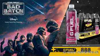 """Introducing G FUEL Sparkling Hydration -- In Celebration Of Lucasfilm's """"Star Wars: The Bad Batch"""" Series"""