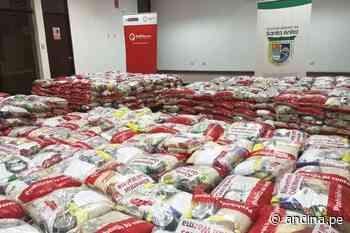 Qali Warma entrega 23 toneladas de alimentos para pobladores de Santa Anita y El Agustino - Agencia Andina
