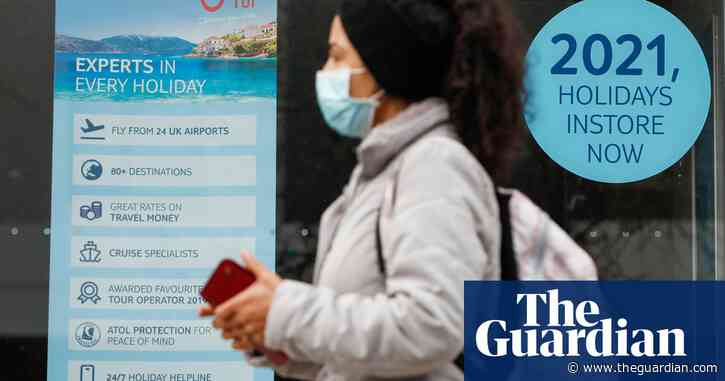 Tui to offer £20 Covid tests for travellers to green list countries