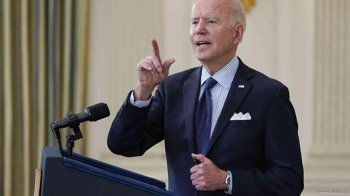 Busca Biden vacunar al 70% de adultos - El Vigia.net