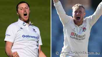 The new Jimmy who studied McGrath; Spinner's Warne-like stunners: England Ashes scout