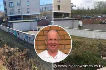 Glasgow painter takes Cathcart graffiti nuisance into his own hands - Glasgow Times