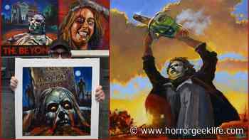 Creator Spotlight: Horror Painter, Angelo Mariano | HorrorGeekLife - Horror Geek Life